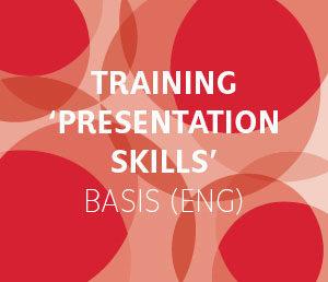 Basistraining Presentation Skills in Amsterdam, leer goed presenteren voor publiek!